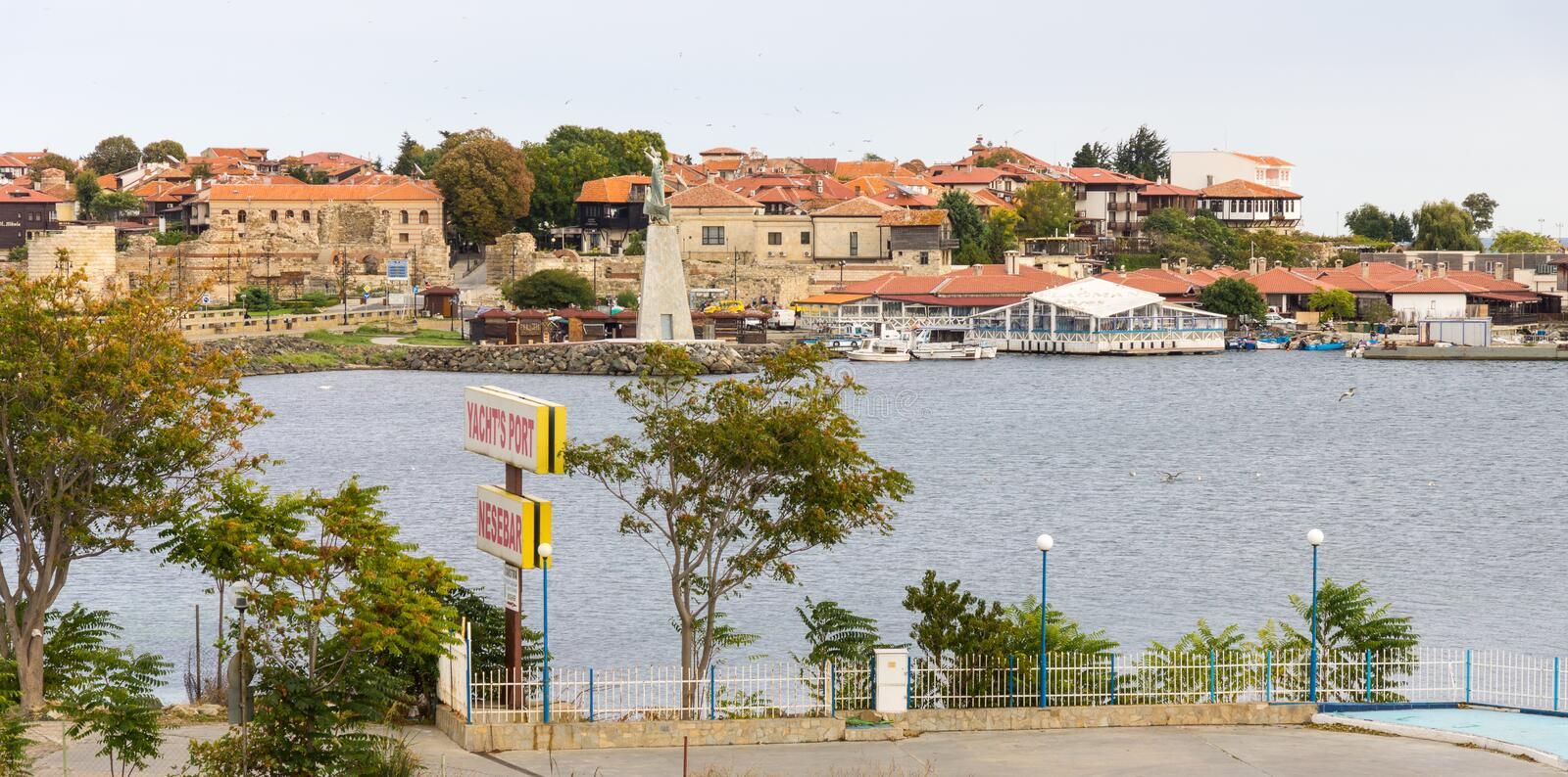 Old Bulgarian Nessebar royalty free stock images