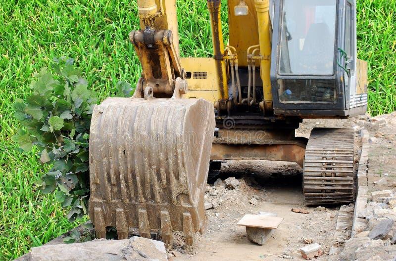 Download Old bulldozer stock photo. Image of bulldozer, dust, chinese - 11175850
