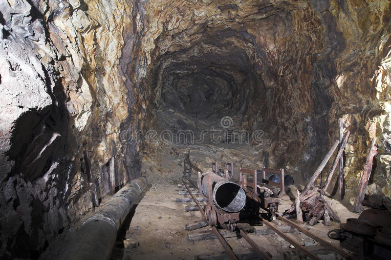 Old bunker from ii world war - Wlodarz stock photo