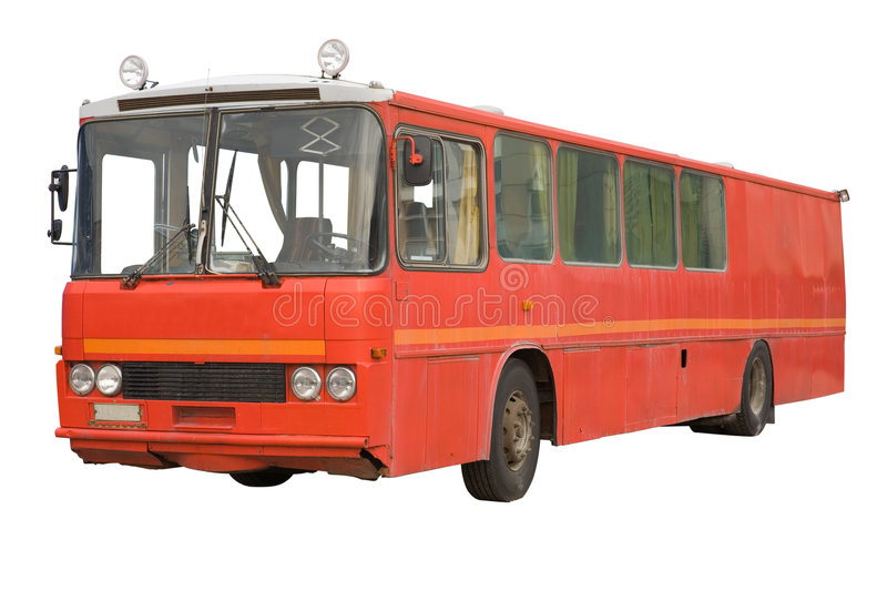 Download Old Bus stock photo. Image of vintage, nostalgic, clipping - 2939150