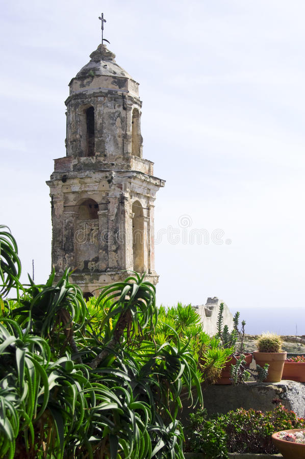 Old Bussana royalty free stock images