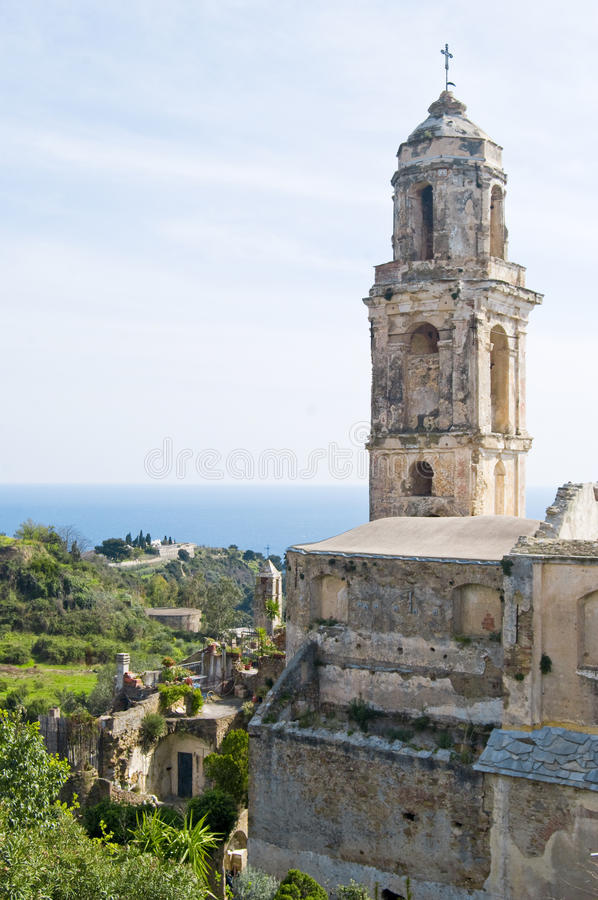 Old Bussana stock images