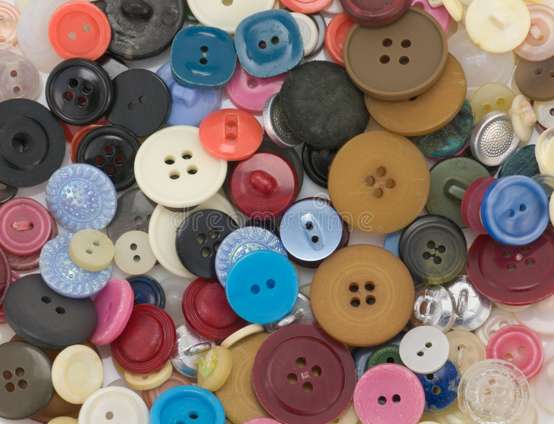 Old buttons royalty free stock images