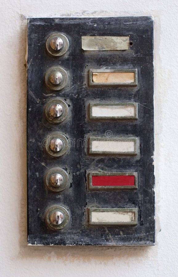 Old buzzer royalty free stock images