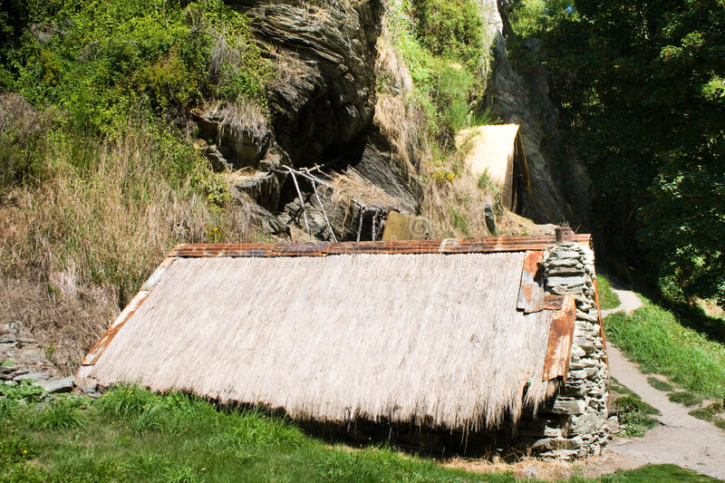 Download Old cabin stock photo. Image of brilliant, arrowtown - 13155048
