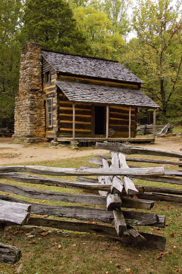 Download Old Cabin stock photo. Image of oliver, green, appalachia - 4723674