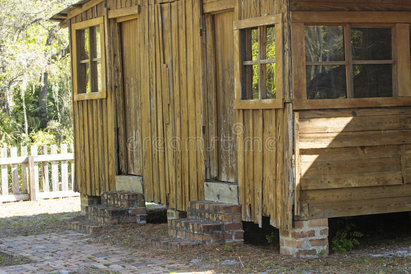 Old cabin with cypress siding on shingle creek florida for Cypress siding cost