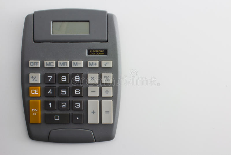 Old Calculator Royalty Free Stock Image