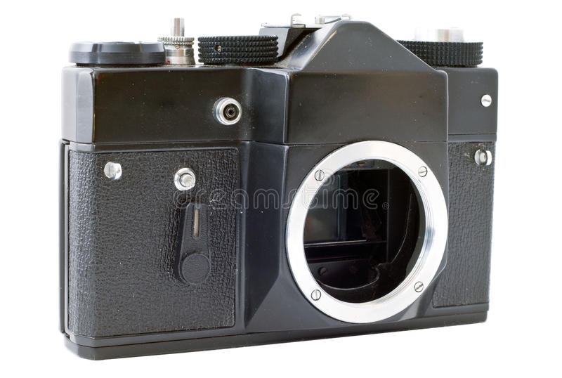 Download Old Camera stock photo. Image of film, lens, focus, dial - 12534910