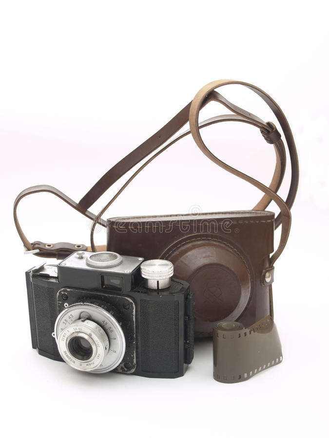 Download Old camera stock photo. Image of lens, hobbies, button - 18502356