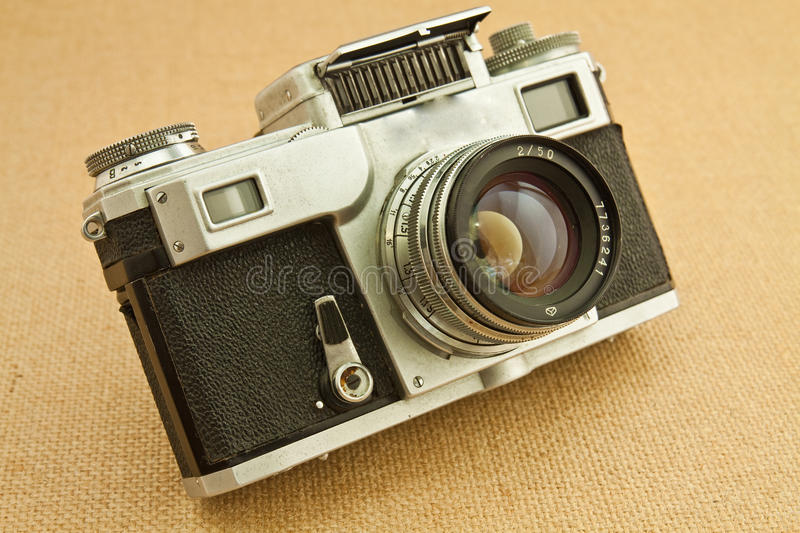 Download Old camera stock photo. Image of front, camera, design - 24218214