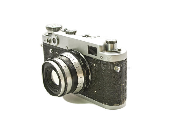 Download Old camera stock photo. Image of memory, film, white - 25045524