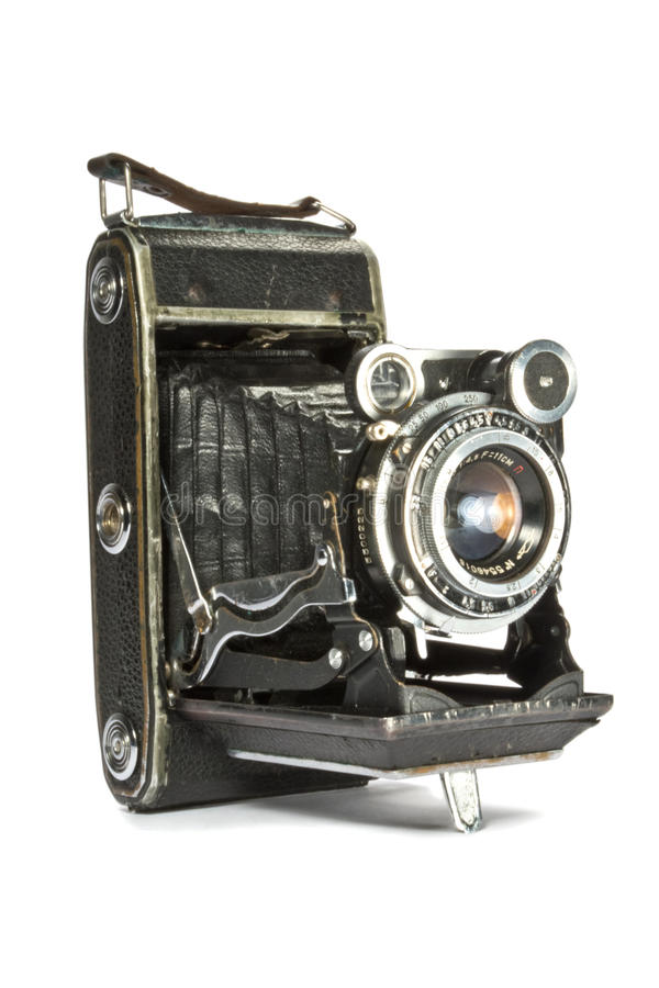 Download Old camera stock photo. Image of chrome, aperture, photograph - 27444338