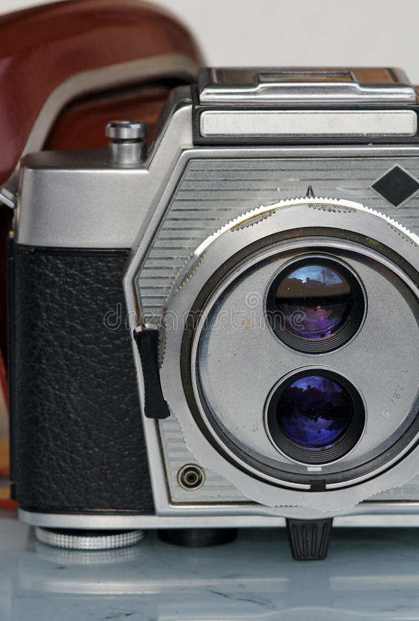 Download The old camera stock photo. Image of exposure, cover - 27928360