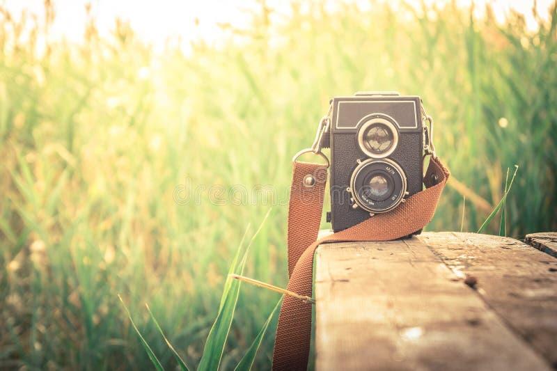 Download Old camera stock image. Image of strap, film, retro, camera - 51495375