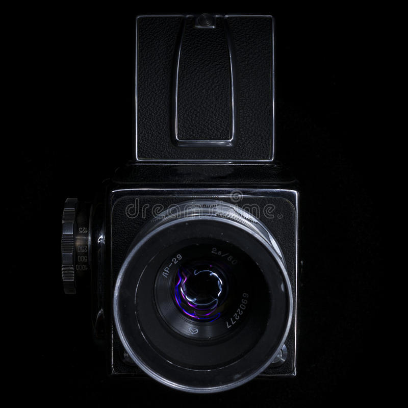Download Old camera stock photo. Image of technology, isolated - 79506754