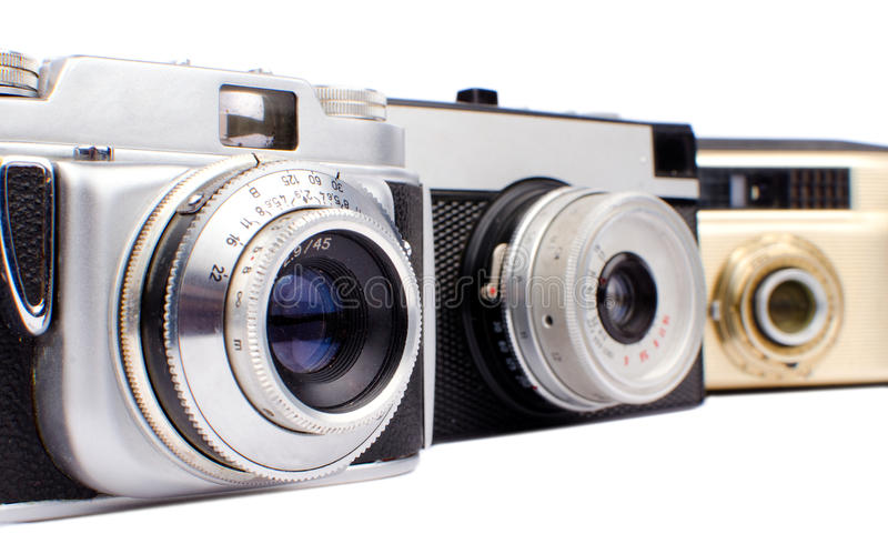 Download Old cameras stock image. Image of range, obsolete, classic - 33186345