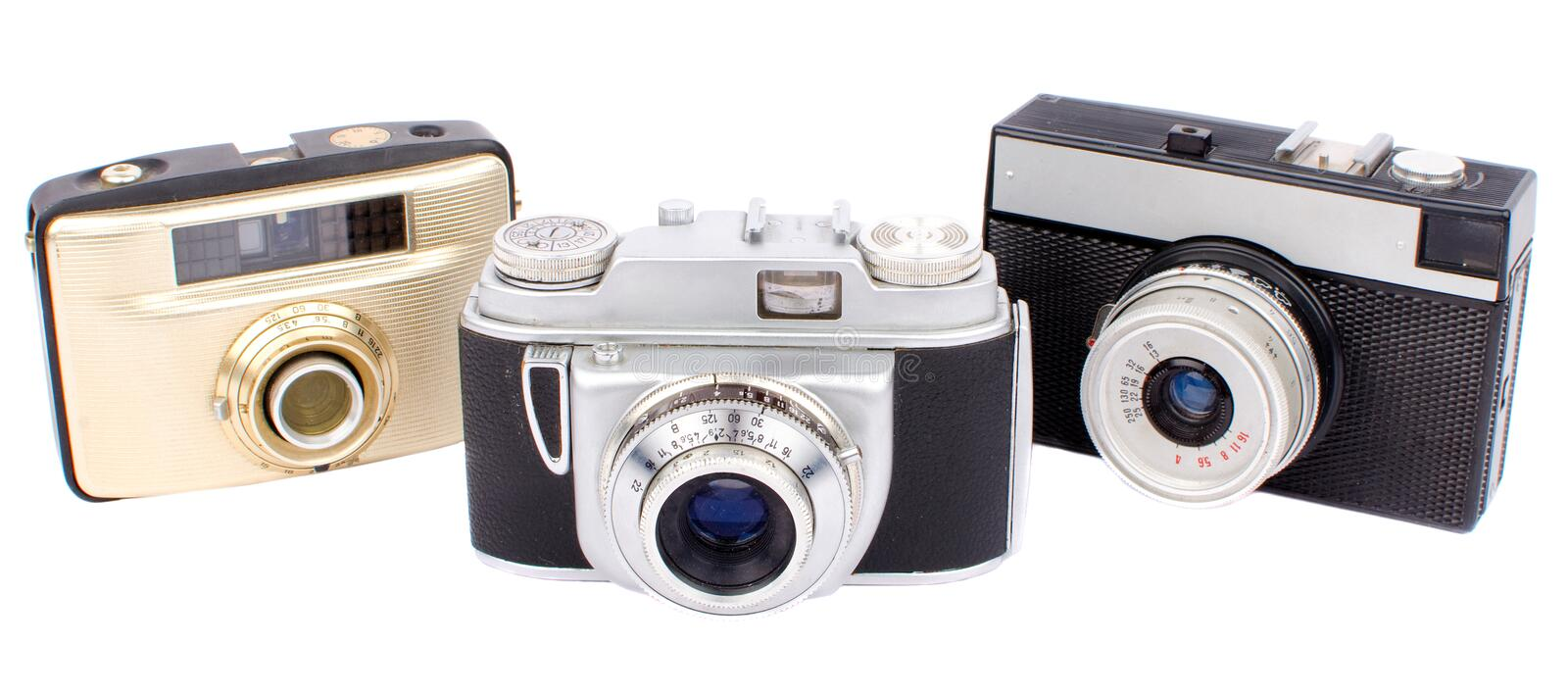 Download Old cameras stock photo. Image of camera, classic, above - 33188758