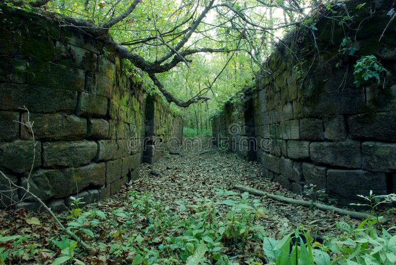 Old Canal Lock Stock Photography