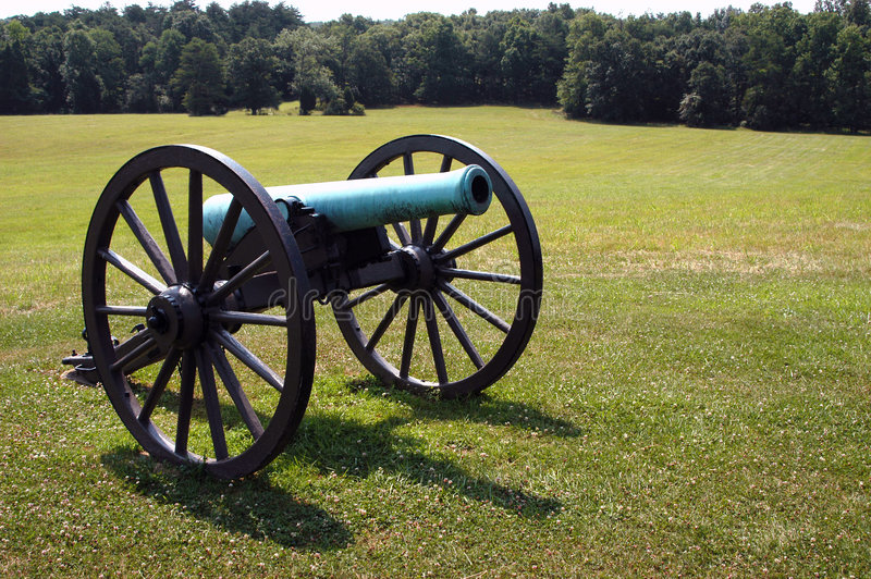 Download Old Cannon stock photo. Image of parks, civil, park, battle - 10492
