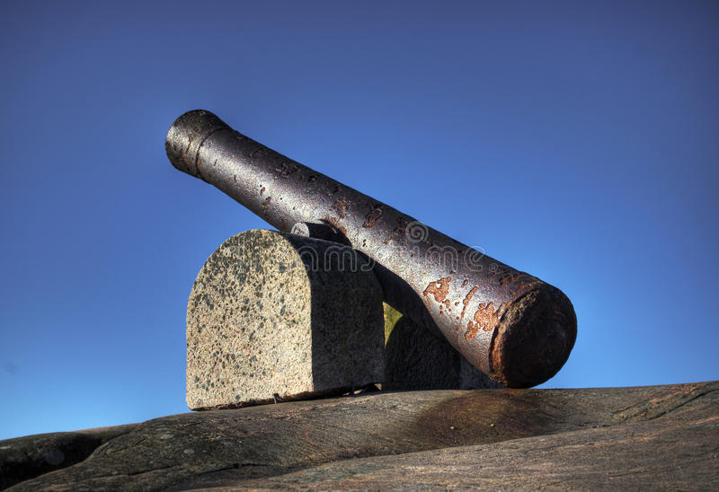 Download Old cannon stock image. Image of armament, enemy, field - 13930991