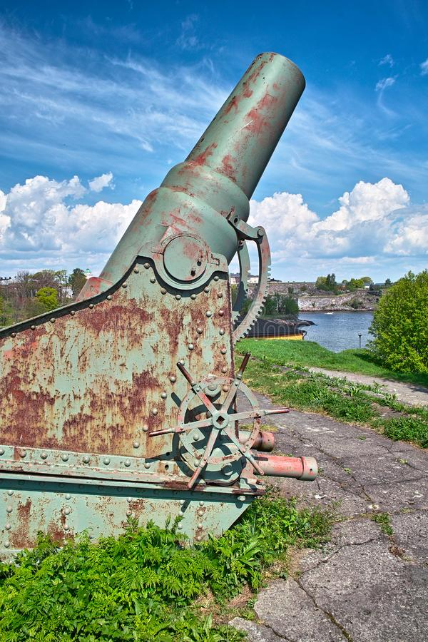 Download Old cannon stock photo. Image of baltic, weapon, steel - 14680902