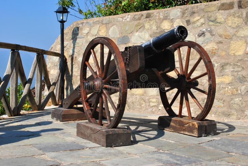 Download Old cannon stock image. Image of arms, gunnery, battle - 21051241