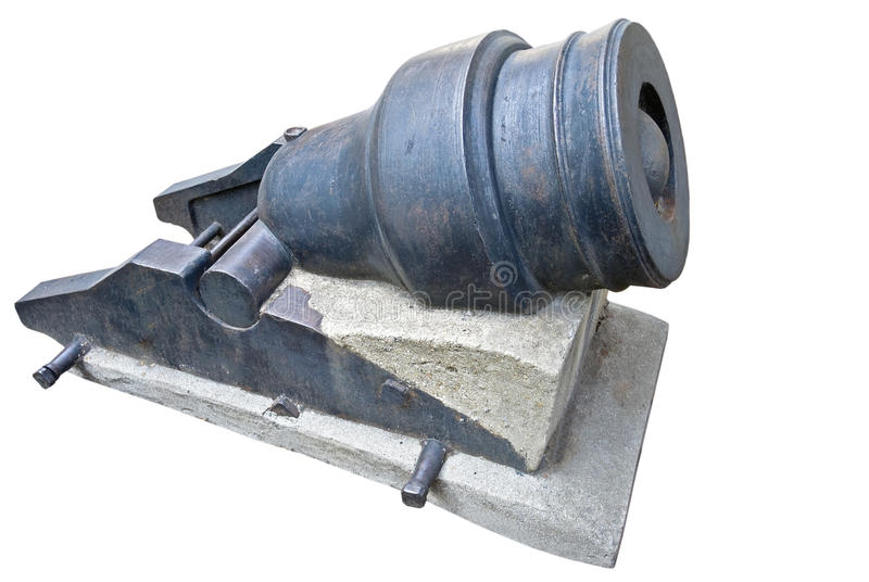 Download Old cannon stock photo. Image of iron, fort, green, weapon - 21508518