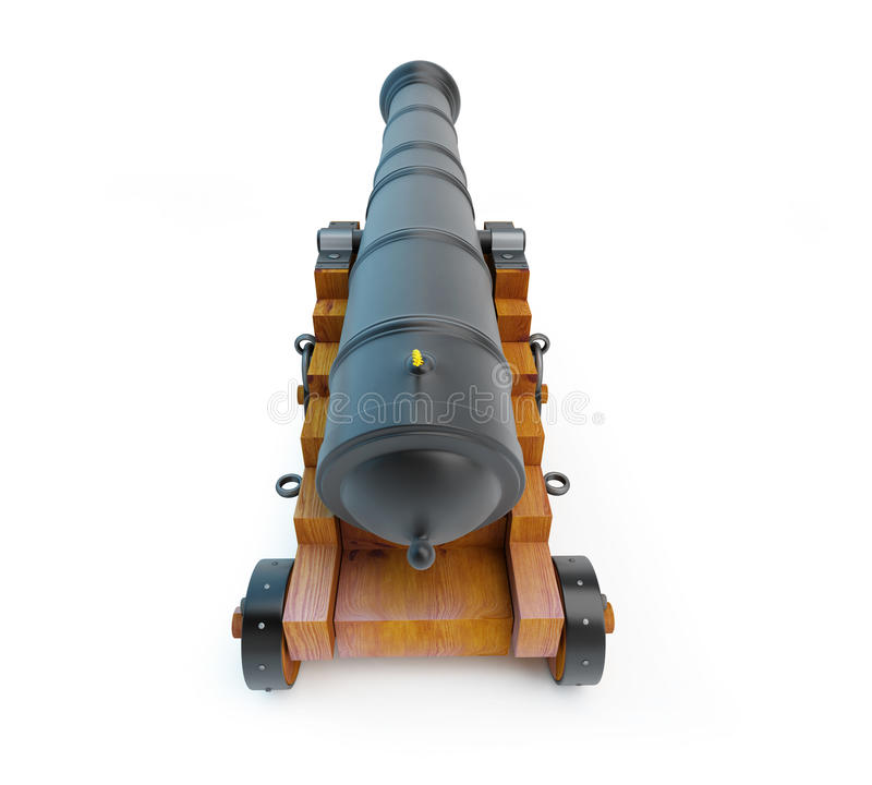 Download Old cannon stock illustration. Image of aged, military - 28080906