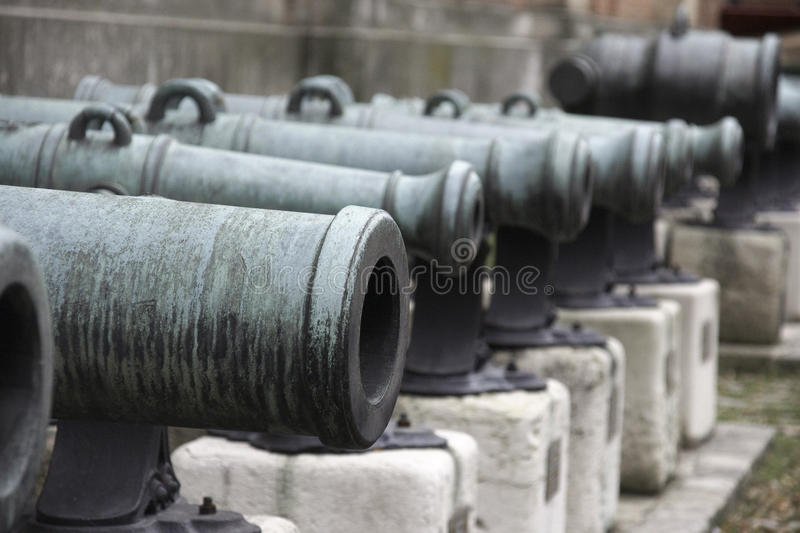 Download Old Cannons stock photo. Image of europe, cannon, vacation - 23876334