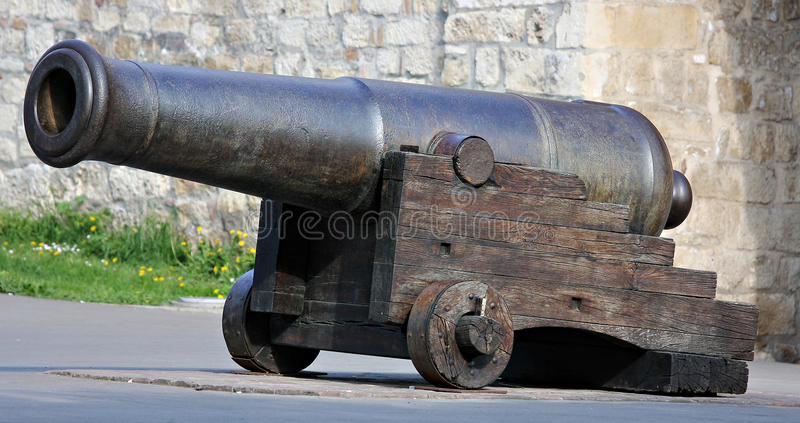 Old canon stock image