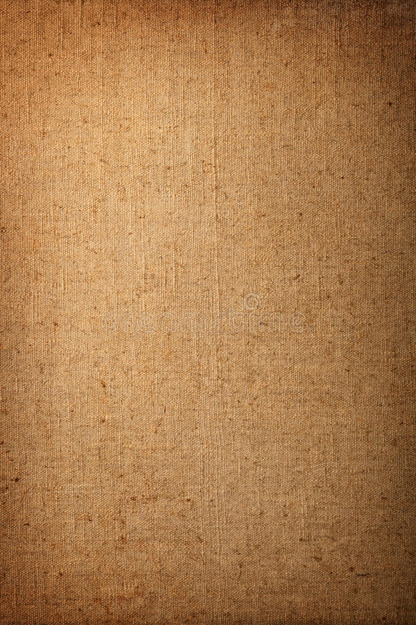 Old Canvas. Very old cotton canvas for background, vintage style royalty free stock image