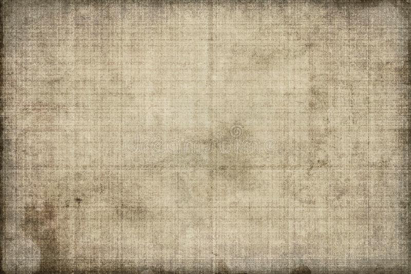 Old canvas with large texture. Grunge jeans with lines stock photography