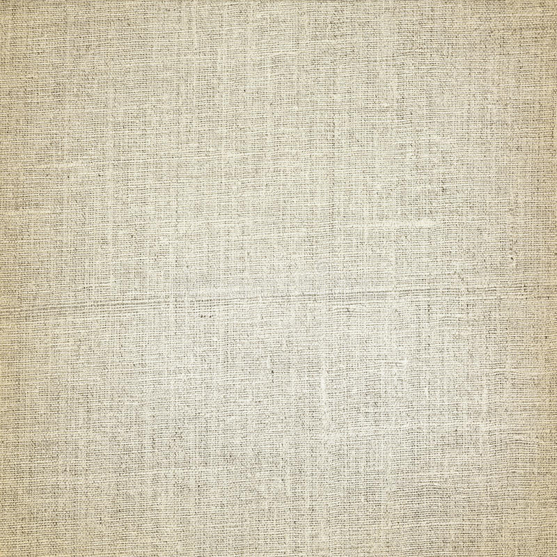 Old canvas texture background and horizontal lines pattern stock photo