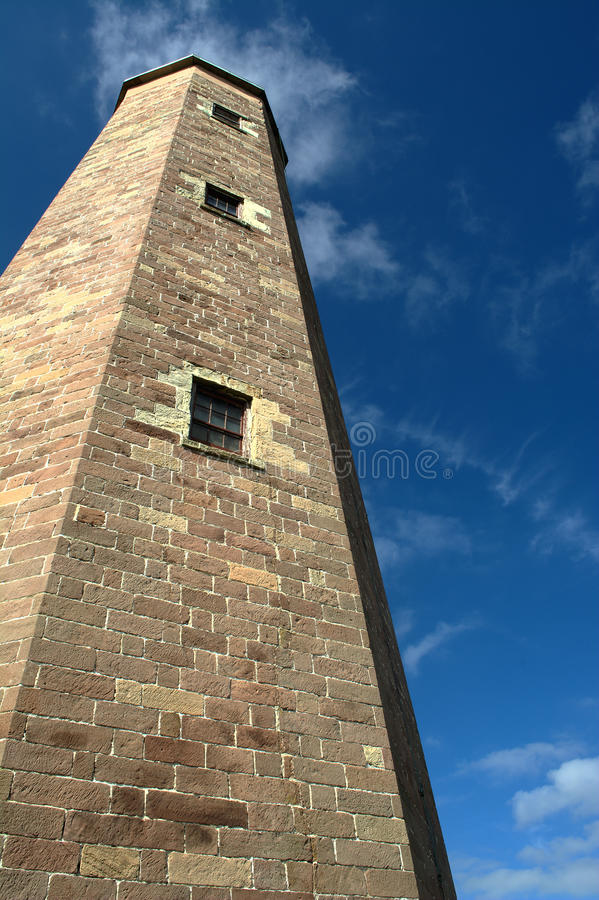 Old Cape Henry Lighthouse royalty free stock image