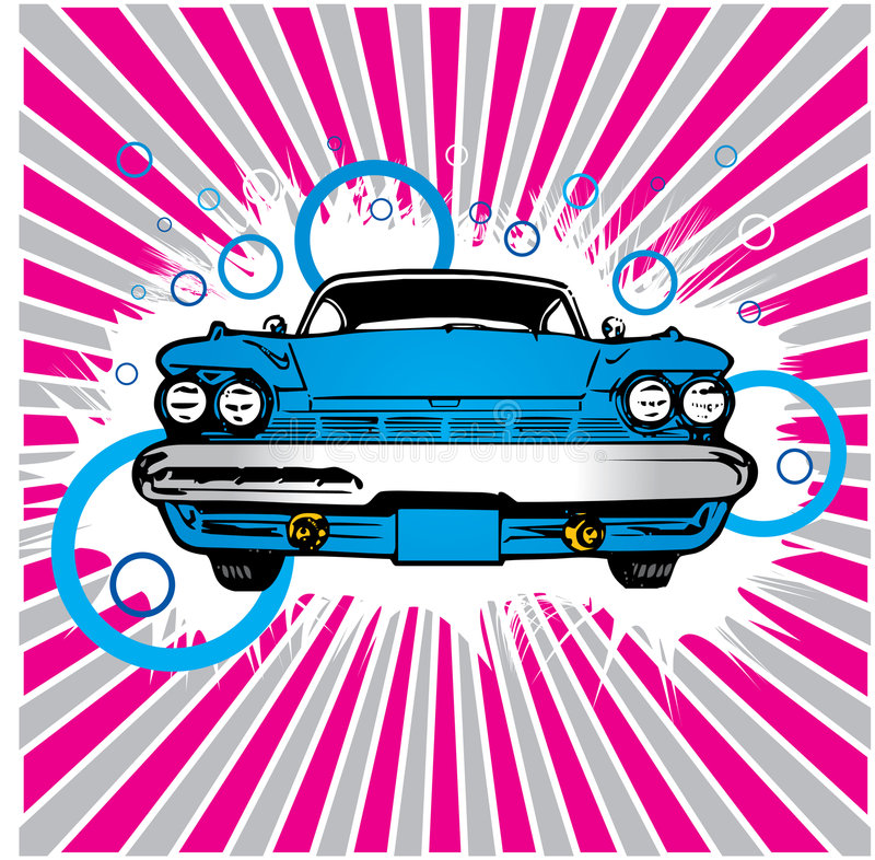 Download Old Car stock vector. Image of vector, sport, transport - 2990495