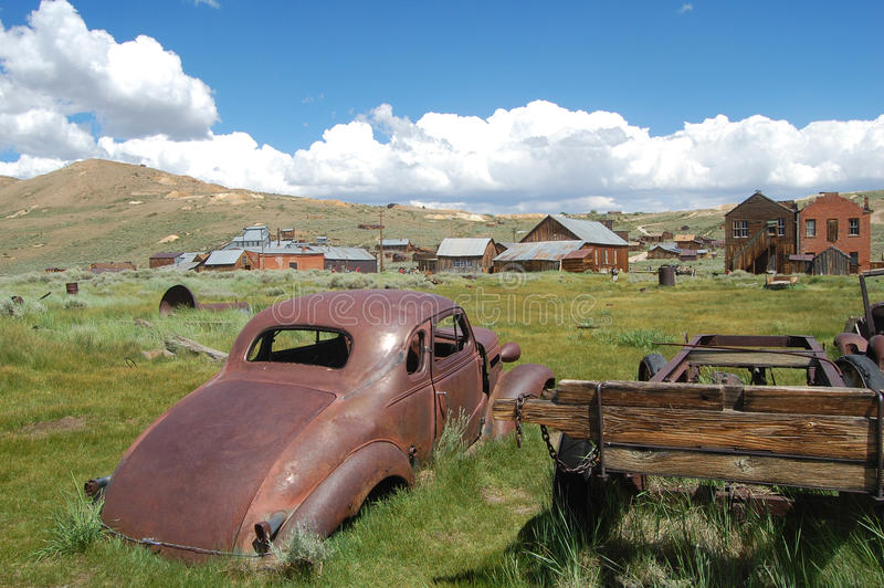 Download Old car in bodie stock image. Image of tourism, sunny - 16953545