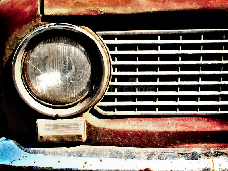 Download Old car bumper stock image. Image of fashioned, front - 9251119