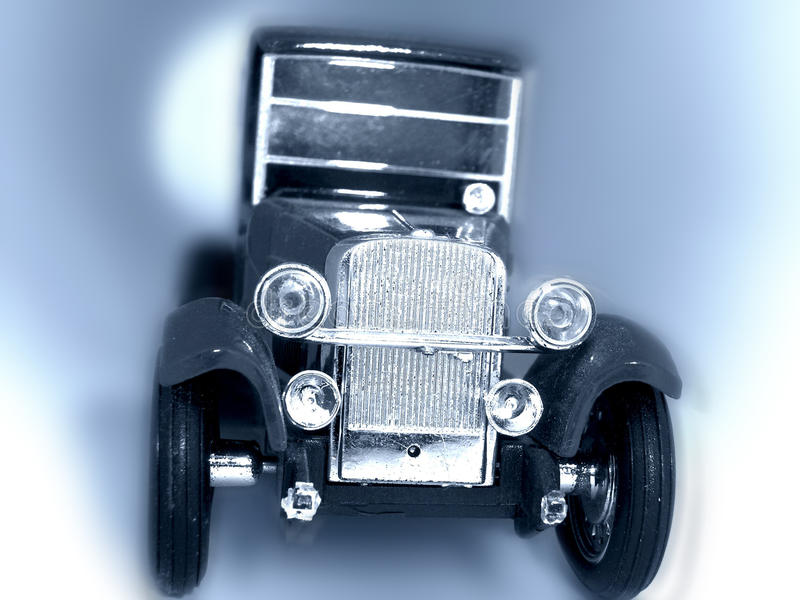 Old Car Conceptual Image. Royalty Free Stock Photos