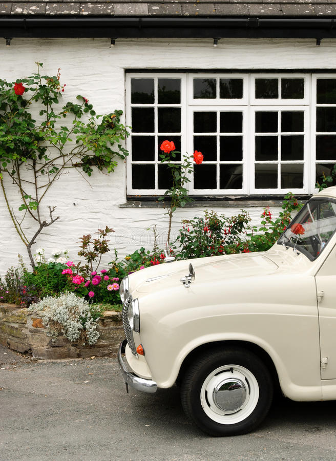 Download Old car in Cornwall stock photo. Image of great, automotive - 24669490