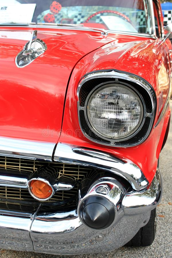 Old Car Headlamp royalty free stock images