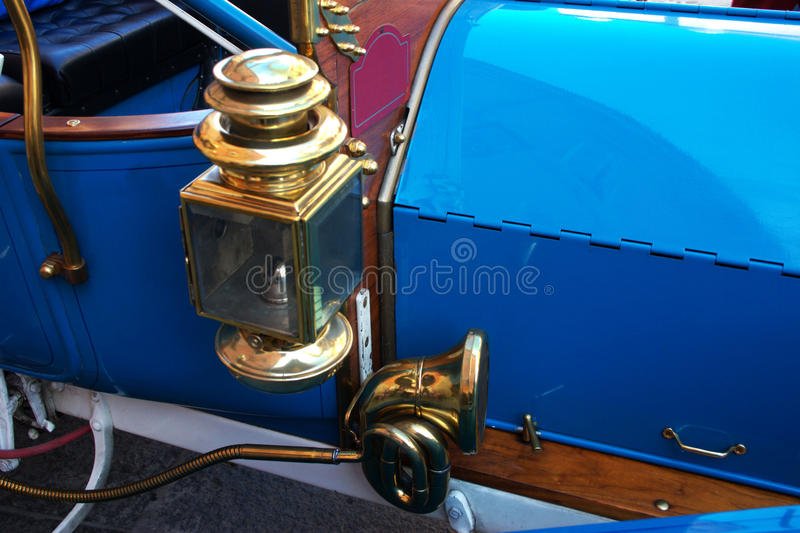 Old Car lantern and Horn