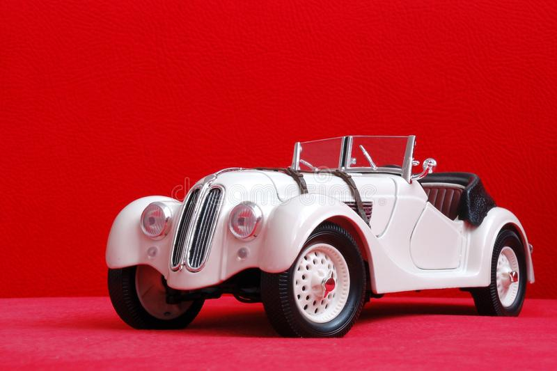 Old car model. BMW328 1940 stock image