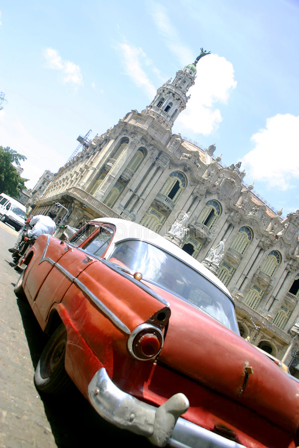 Old Car Old Habana Royalty Free Stock Photography