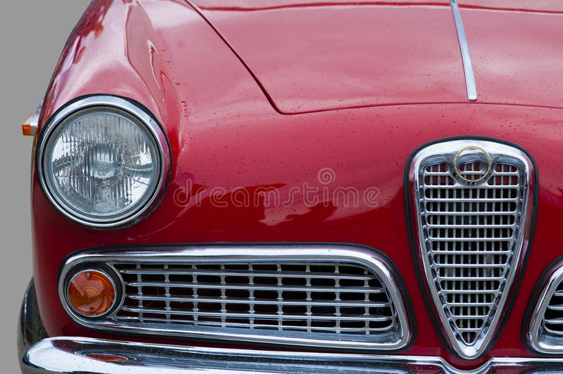 Download Old car, retro, closeup stock image. Image of accessory - 26892455