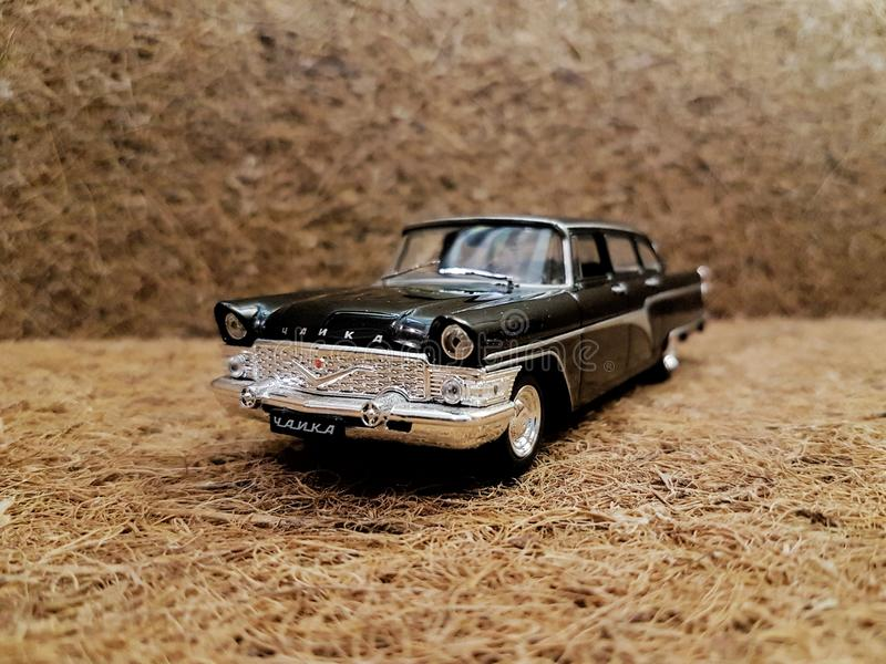 Old car toy stock image