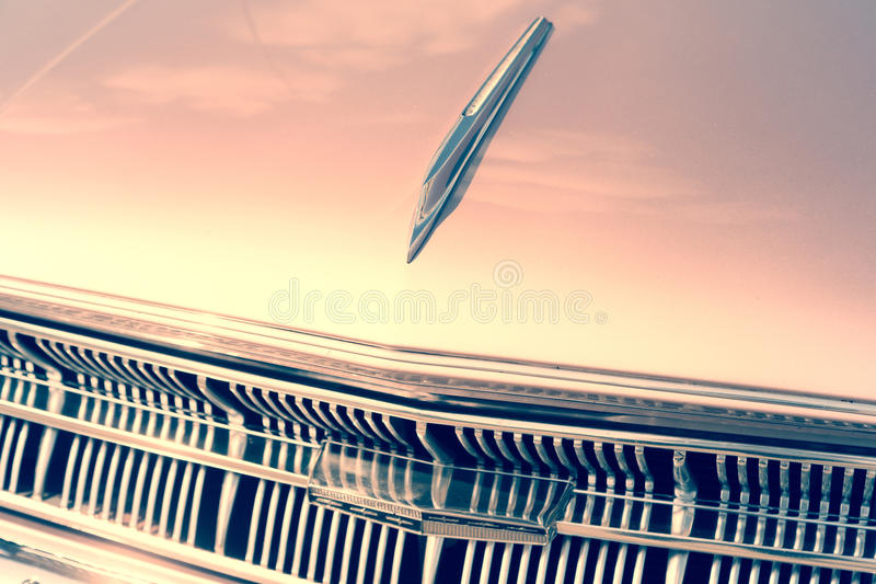 Old car in vintage royalty free stock photo