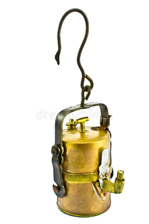 Download Old Carbide Miners Lamp Royalty Free Stock Photography - Image: 18646777