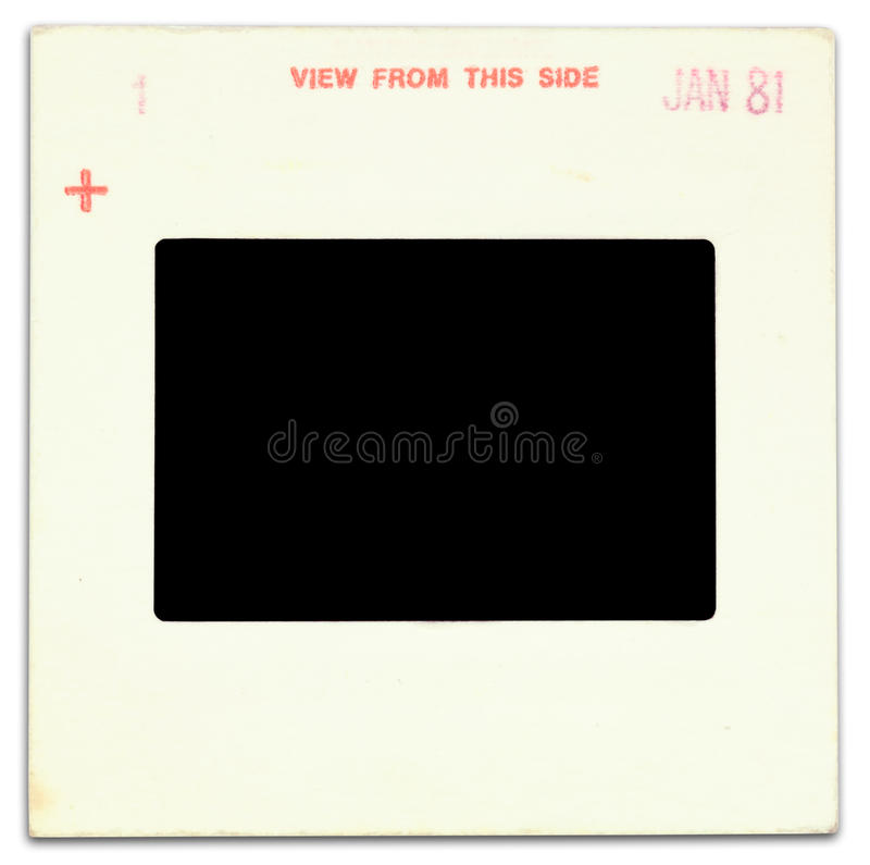 Free Old Card Slide Mount Stock Image - 25364211