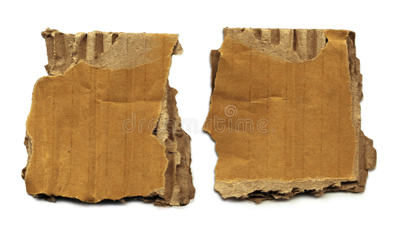 Download Old Cardboard Scraps stock photo. Image of packing, packaging - 2152020